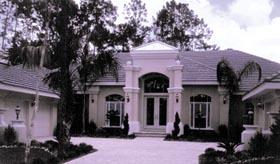 House Plan 63132 | Florida Mediterranean Style Plan with 3506 Sq Ft, 3 Bedrooms, 3 Bathrooms, 4 Car Garage Elevation