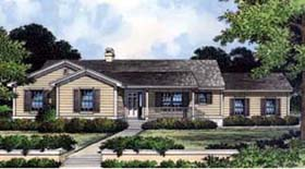 Country House Plan 63136 with 3 Beds, 2 Baths, 2 Car Garage Elevation