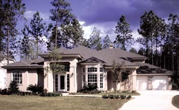 Mediterranean House Plan 63174 with 4 Beds, 3 Baths, 3 Car Garage Picture 1