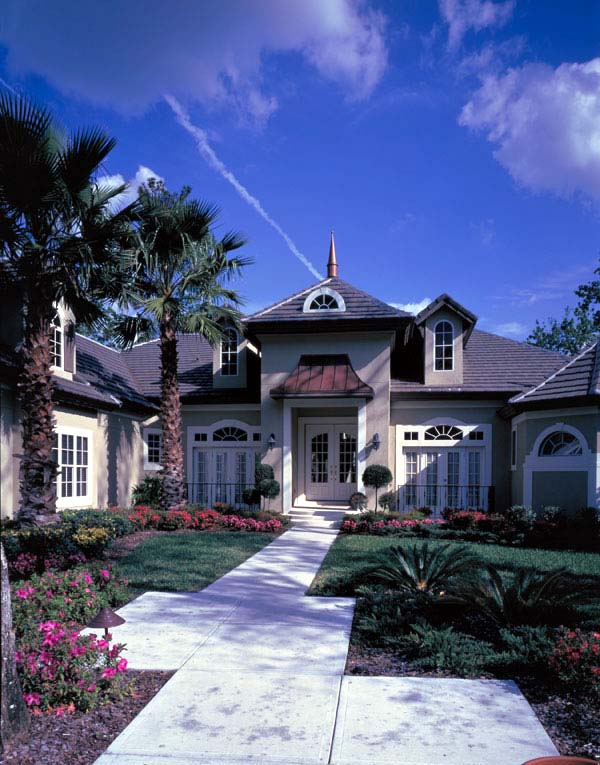 Victorian House Plan 63260 with 4 Beds, 4 Baths, 3 Car Garage Picture 1