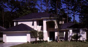 Contemporary, Florida, Mediterranean House Plan 63269 with 4 Beds, 3 Baths, 2 Car Garage Picture 1