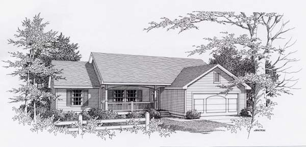 House Plan 63508