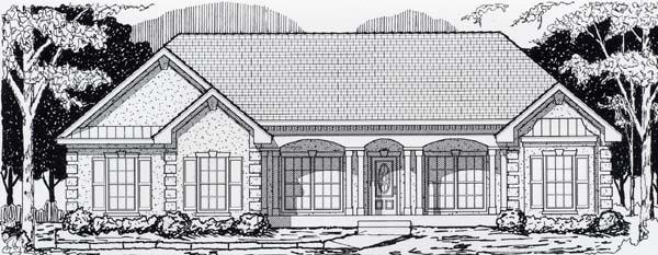 House Plan 63512