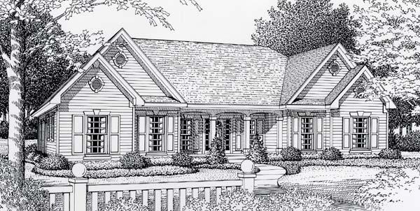 House Plan 63515