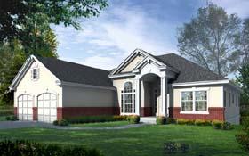 Victorian House Plan 63521 Elevation