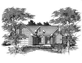 Plan Number 63701 - 2176 Square Feet