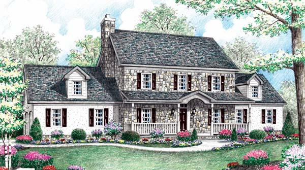 Farmhouse House Plan 64404 Elevation