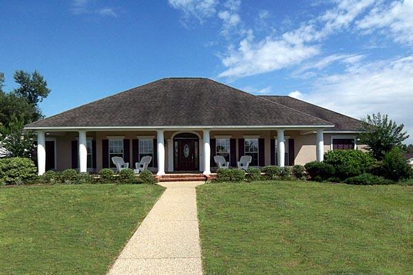 Southern House Plan 64508