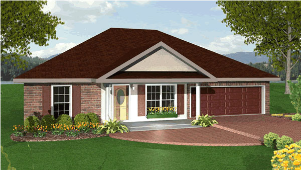 Traditional House Plan 64549 Elevation