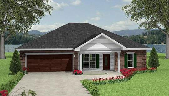 Traditional House Plan 64550 Elevation