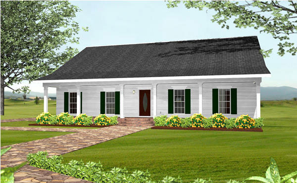 Country Southern House Plan 64551 Elevation