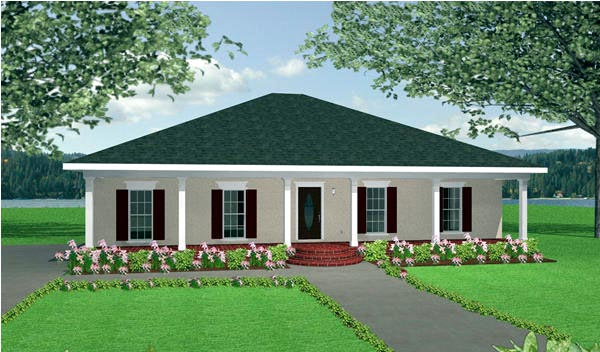 Country House Plan 64552 Elevation