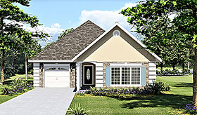 Mediterranean House Plan 64553 Elevation