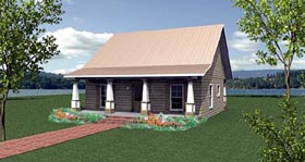 Cottage Country House Plan 64586 Elevation