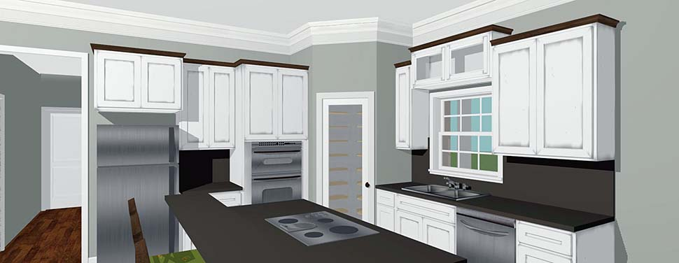 Country House Plan 64590 with 3 Beds, 2 Baths Picture 3