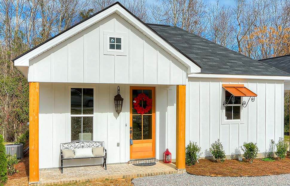 Cottage, Country, Traditional House Plan 64597 with 3 Beds, 2 Baths Picture 9