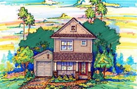 House Plan 64606