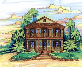 House Plan 64608