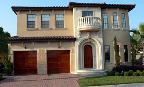 House Plan 64625 | Florida Mediterranean Style Plan with 2930 Sq Ft, 3 Bedrooms, 4 Bathrooms, 2 Car Garage Elevation