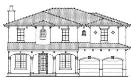 Mediterranean House Plan 64635 Elevation