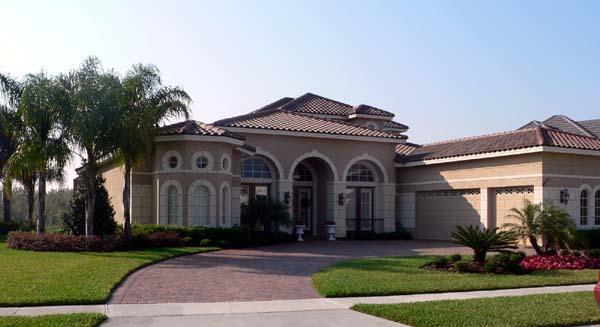 Florida Mediterranean House Plan 64649 Elevation