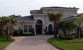 Florida , Mediterranean House Plan 64654 with 4 Beds, 4 Baths, 2 Car Garage Elevation