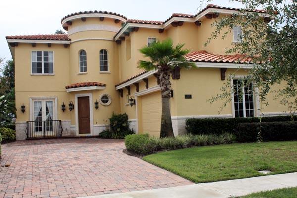 Florida Mediterranean House Plan 64655
