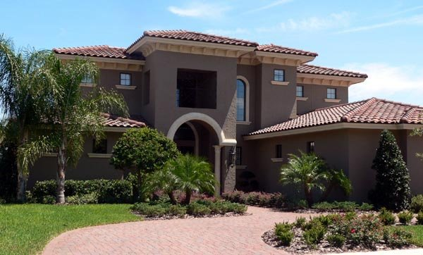 Florida Mediterranean House Plan 64679 Elevation