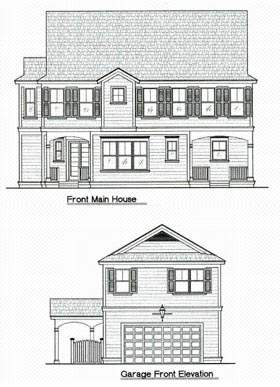 Traditional House Plan 64683 with 4 Beds, 5 Baths, 2 Car Garage Elevation