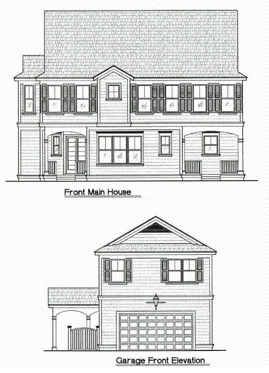 Traditional House Plan 64683 Elevation