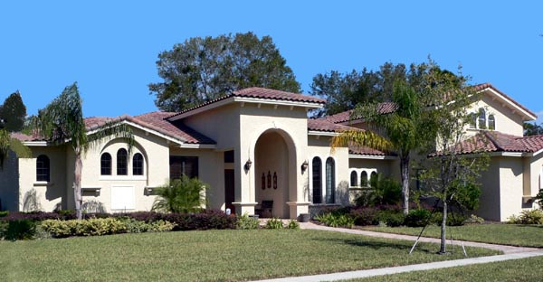 Florida Mediterranean House Plan 64693 Elevation