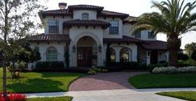 Florida Mediterranean House Plan 64702 Elevation