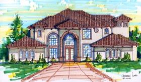 House Plan 64712 Elevation