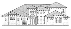 Mediterranean House Plan 64715 Elevation