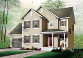 Plan Number 64804 - 1485 Square Feet