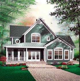 Florida House Plan 64812 Elevation