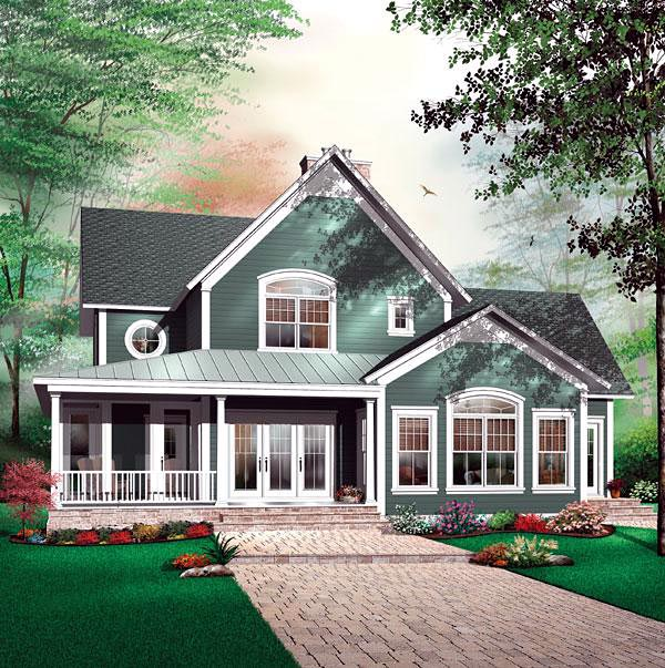 Florida House Plan 64812 Elevation