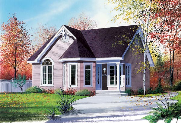 Victorian House Plan 64822 Elevation