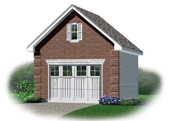 Garage Plan 64830 Elevation