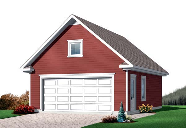 Garage Plan 64834 Elevation