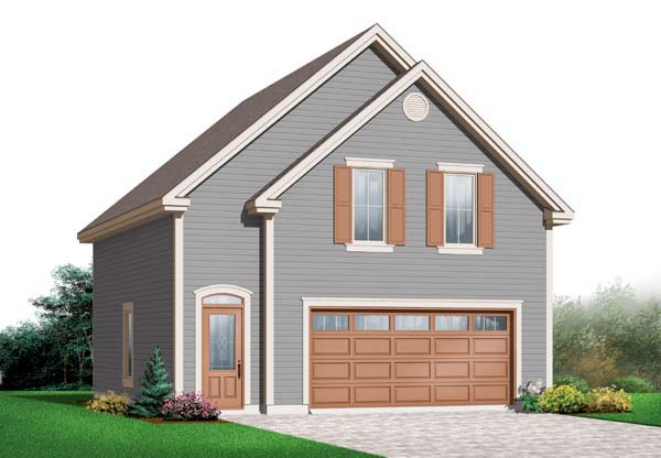 Craftsman Garage Plan 64840 Elevation