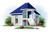 Playhouse Plan 64866