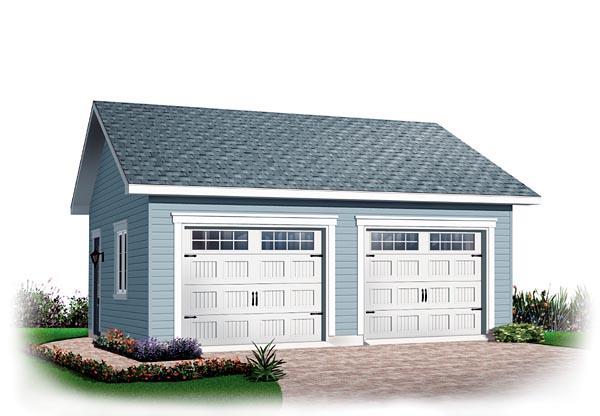 Garage Plan 64875