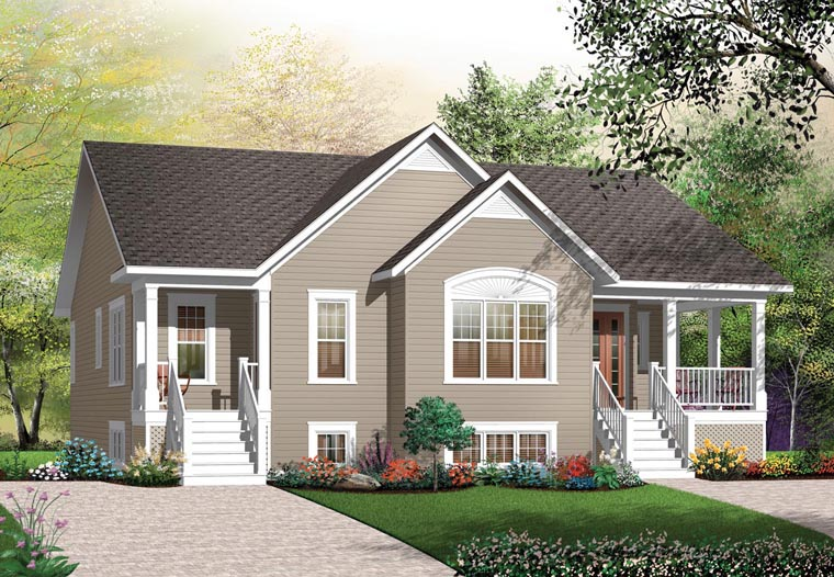 Multi-Family Plan 64882