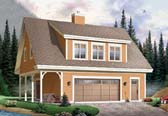Plan Number 64902 - 1096 Square Feet