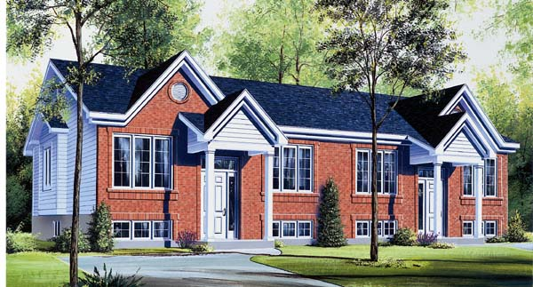 Multi-Family Plan 64903