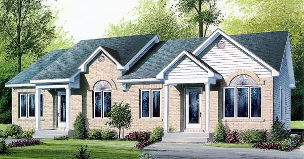Multi-Family Plan 64907