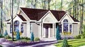 Plan Number 64911 - 1098 Square Feet