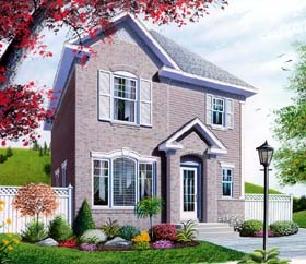 House Plan 64940 Elevation