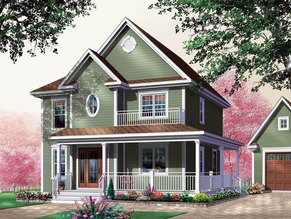House Plan 64942 Elevation